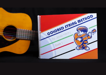 Color String Guitar Method – Christmas Bundle