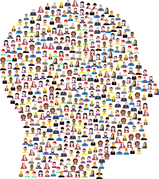 Silhouette of buyer personas