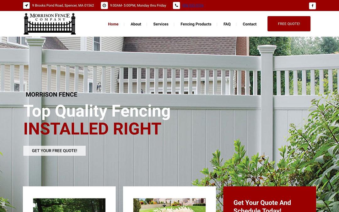 Morrison Fence Co